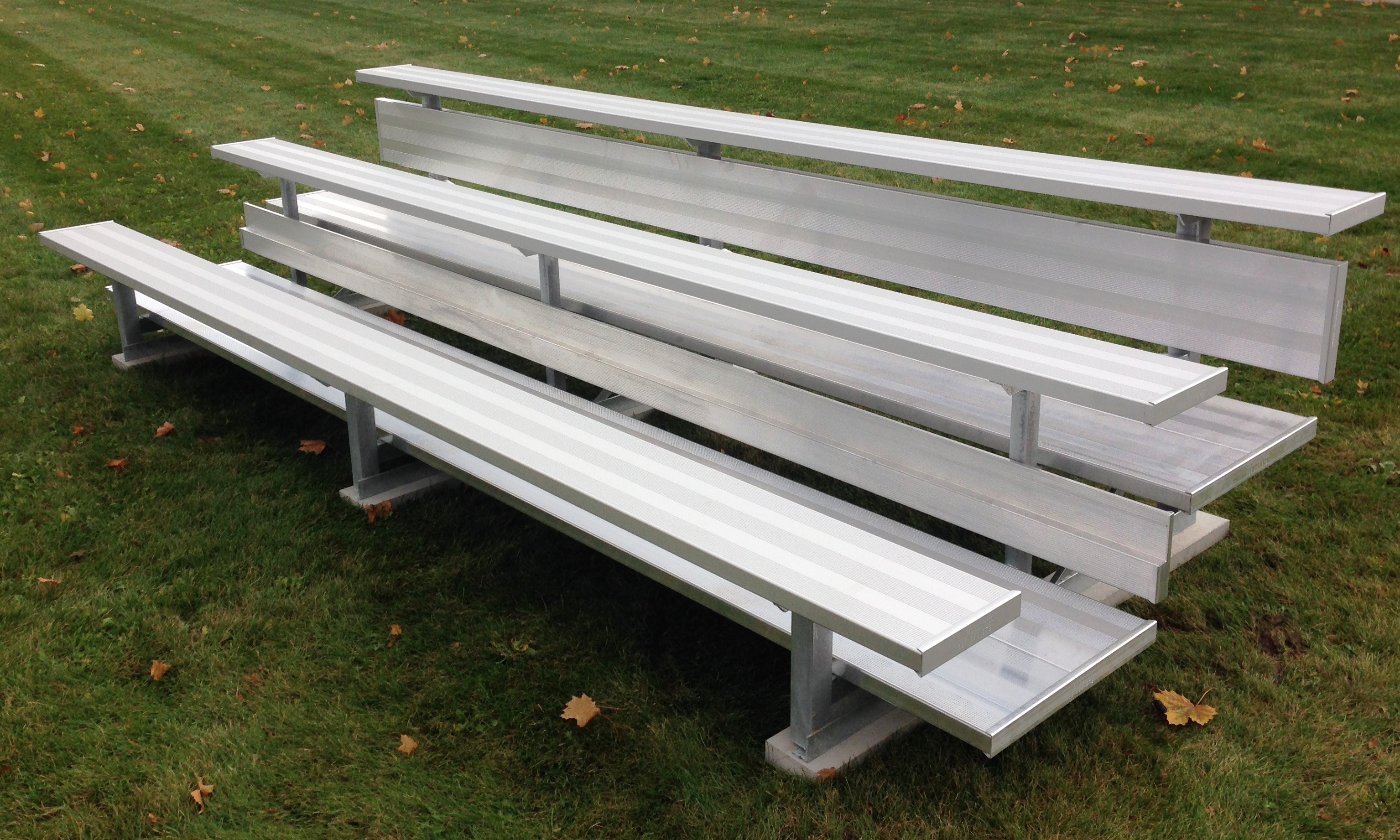 Standard 3 Row Bleachers Bleacher Guys