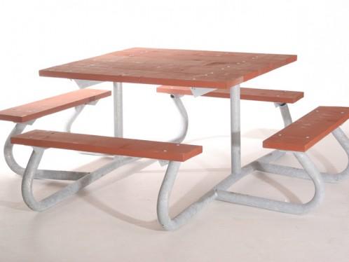 Picnic Table LT X Bleacher Guys - Four sided picnic table