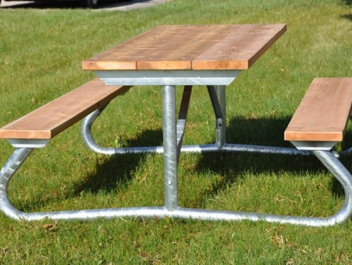LT Heavy Duty Two Sided Picnic Table Archives Bleacher Guys - Four sided picnic table