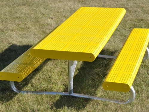 Perforated Picnic Tables