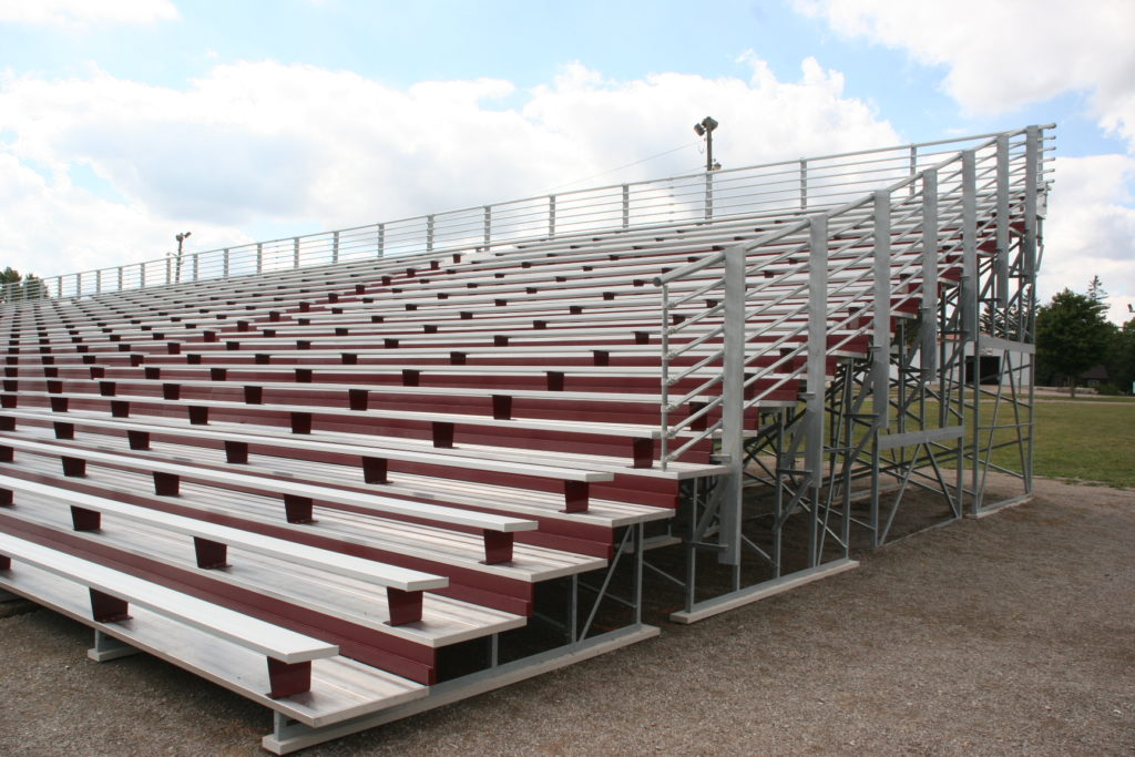 11-20 Row Bleachers -