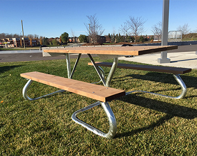 Accessible Picnic Tables -